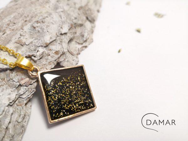 biżuteria naszyjnik elegancki romb