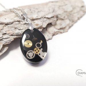 biżuteria naszyjnik steampunk
