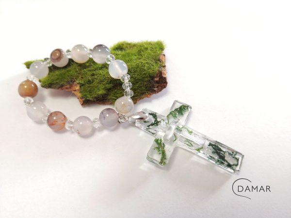 biżuteria pierwsza komunia dziesiątka różańca