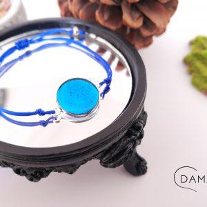biżuteria bransoletka błękitna