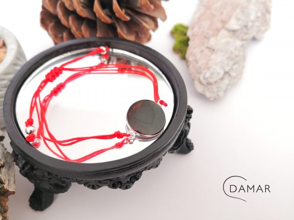 biżuteria bransoletka czerwona