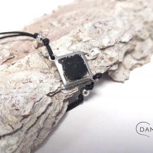 biżuteria bransoletka elegancka z brokatem