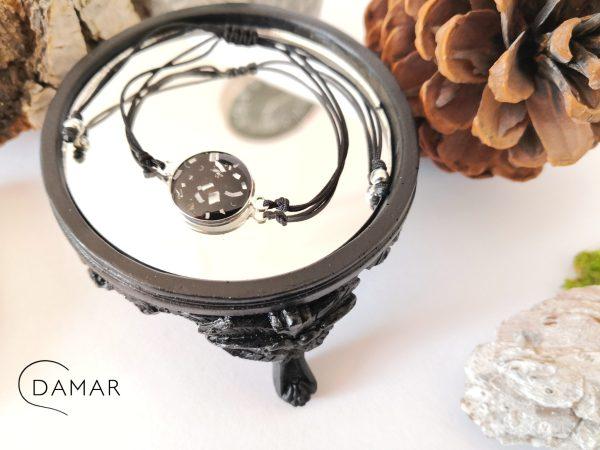 biżuteria bransoletka z opiłkami
