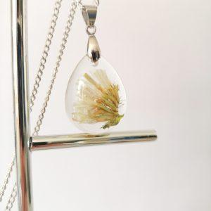 biżuteria naszyjnik biały zatrwian