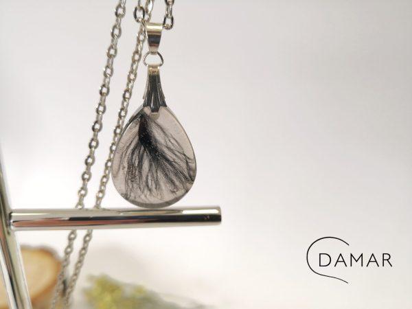 biżuteria naszyjnik gęsie piórka