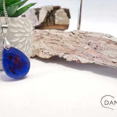 biżuteria naszyjnik niebieski
