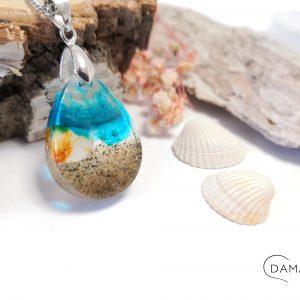 biżuteria naszyjnik plaża w łezce
