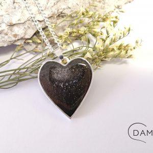 biżuteria naszyjnik srebrne serce