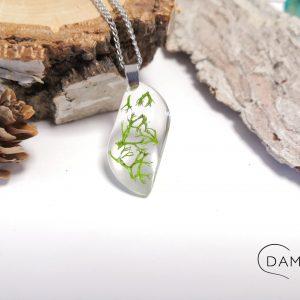 biżuteria-naszyjnik-zielony-chrobotek-w-fali